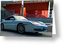 911 Porsche 996 2 Greeting Card by Stuart Row