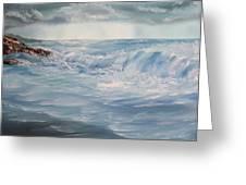 A Break In Storm Greeting Card by Christie Minalga
