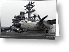 A C-2a Greyhound Launches Greeting Card by Stocktrek Images