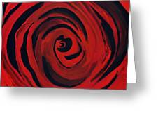 A Centered Rose... Greeting Card by Tanya Tanski