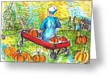 A Child's Joy  Greeting Card by Jon Baldwin  Art