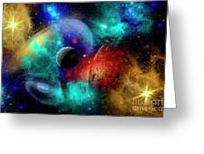 A Colorful Part Of Our Galaxy Greeting Card by Mark Stevenson
