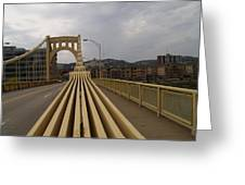 A Confounded Bridge Greeting Card by Jacob Stempky