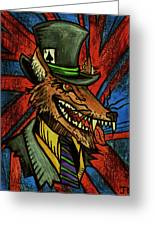 A Dapper Rogue Greeting Card by John  G L Horvath