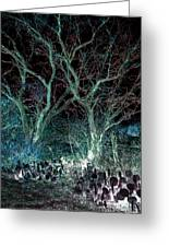 A Ghost Story Told On March Road Greeting Card by Louis Nugent
