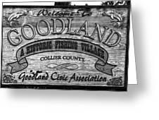 A Goodland Greeting Card by David Lee Thompson