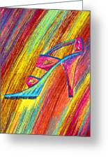 A High Heel Greeting Card by Kenal Louis