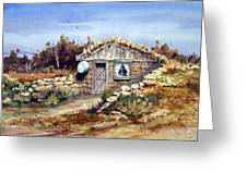 A Little South Of Wolf Creek Greeting Card by Sam Sidders