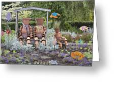 A Marine Garden Area In The Childrens Greeting Card by Douglas Orton
