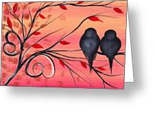 A Morning With You Greeting Card by  Abril Andrade Griffith