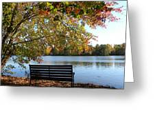 A Place For Thanks Giving Greeting Card by Sandi OReilly