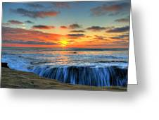 A Surfers Delight Greeting Card by Jason Bates