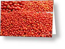 A Variety Of Fresh Tomatoes - 5d17833 Greeting Card by Wingsdomain Art and Photography