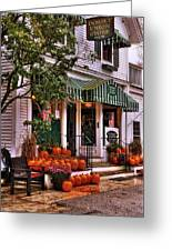 A Vermont Classic - Dorset Union Country Store Greeting Card by Thomas Schoeller