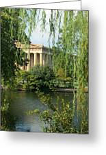 A View Of The Parthenon 1 Greeting Card by Douglas Barnett