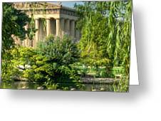 A View of the Parthenon 13 Greeting Card by Douglas Barnett