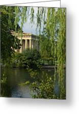A View Of The Parthenon 3 Greeting Card by Douglas Barnett