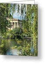 A View Of The Parthenon 5 Greeting Card by Douglas Barnett