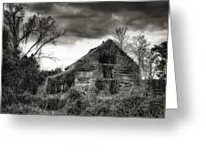 Abandoned Barn Greeting Card by Brenda Bryant