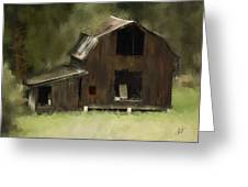 Abandoned Barn Greeting Card by Dale Stillman