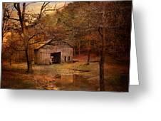 Abandoned Barn Greeting Card by Jai Johnson