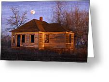Abandoned Farm House Greeting Card by Richard Wear