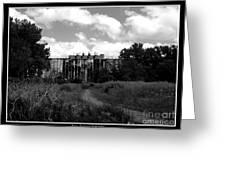 Abandoned Grain Elevator In Buffalo Greeting Card by Rose Santuci-Sofranko