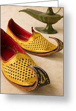 Abarian Shoes Greeting Card by Garry Gay