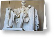 Abraham Lincoln Greeting Card by