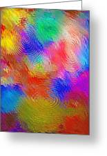 Abstract - Ripples Greeting Card by Steve Ohlsen