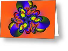 Abstract 127a Greeting Card by Rolf Bertram
