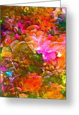 Abstract 271 Greeting Card by Pamela Cooper