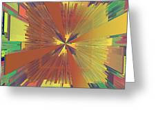 Abstract 4 Greeting Card by Deborah Benoit