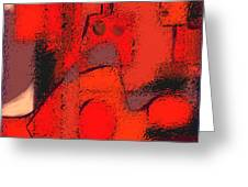 Abstract 463 Greeting Card by Nedunseralathan R