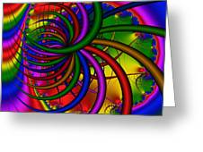 Abstract 523 Greeting Card by Rolf Bertram