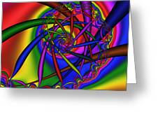 Abstract 533 Greeting Card by Rolf Bertram