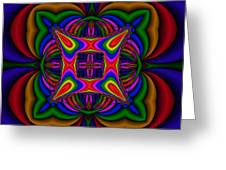 Abstract 607 Greeting Card by Rolf Bertram