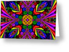 Abstract 659 Greeting Card by Rolf Bertram