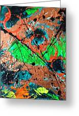 Abstract Greeting Card by Annette McElhiney