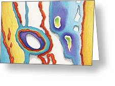 Abstract Ao67 Greeting Card by Amy S Turner