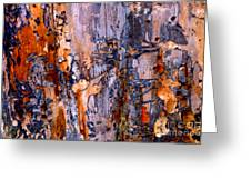 Abstract By Nature Greeting Card by Anca Jugarean