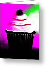 Abstract Cupcakes By Shawna Erback Greeting Card by Shawna Erback
