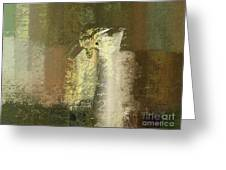 Abstract Floral 04v2g Greeting Card by Variance Collections