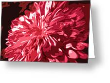 Abstract Flowers Greeting Card by Sumit Mehndiratta