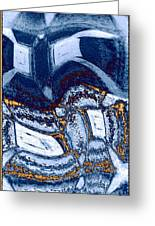 Abstract Fusion 137 Greeting Card by Will Borden