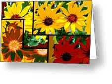 Abstract Fusion 99 Greeting Card by Will Borden