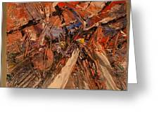Abstract Greeting Card by Geoffrey  Mann