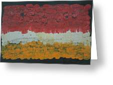 Abstract Number 6 Greeting Card by James Johnson
