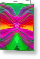 Abstract Greeting Card by Pat Exum