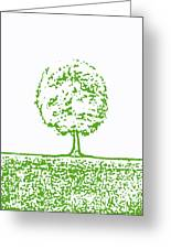 Abstract Tree By Shawna Erback Greeting Card by Shawna Erback